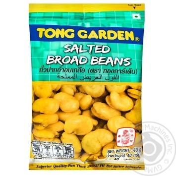 Фасоль жаренная Tong Garden солёная 40г - купить, цены на Ашан - фото 1
