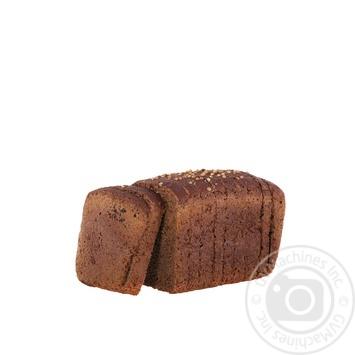 Хлеб Царь Хлеб Бородинский упакован нарезной 400г - купить, цены на Novus - фото 2