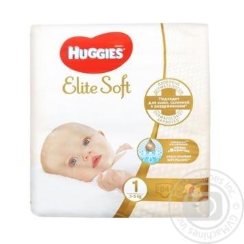 Підгузки Huggies Elite Soft Mega 1 2-5кг 84шт - купити, ціни на Novus - фото 4