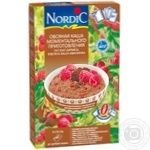 Nordic with chocolate and raspberry instant oatmeal 210g