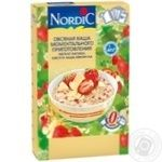 Nordic with chocolate and strawberry instant oatmeal 210g