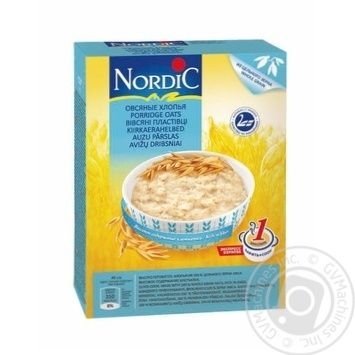 Oat flakes Nordic quick-cooking 500g