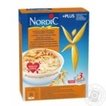 Cereal flakes Nordic 4 kinds of cereals with oat bran 600g - buy, prices for Novus - image 1