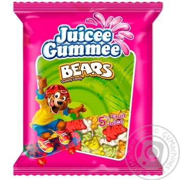 Конфеты Juicee Gummee Медвежата жевательные 80г
