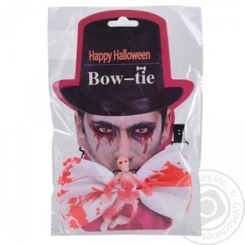 Галстук для Хэллоуина  45см - купить, цены на Метро - фото 1