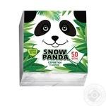 Snow Panda Single-Layer Napkins 24cm*50pc