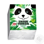 Snow Panda Single-Layer Napkins 24cm*100pc - buy, prices for Tavria V - image 1