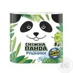 Рушники паперові Сніжна панда 2шт