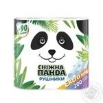 Полотенца бумажные Снежная Панда Extra Long 2шт