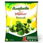 Капуста брокколи на пару Bonduelle замороженная 400г - купить, цены на Ашан - фото 1