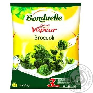 Капуста брокколи на пару Bonduelle замороженная 400г - купить, цены на Novus - фото 1