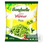Горошек зеленый Bonduelle на пару замороженный 400г - купить, цены на МегаМаркет - фото 1