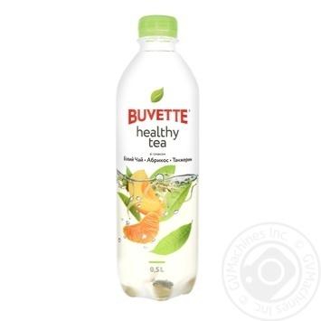 Напиток Buvette Healthy tea со вкусом белого чая абрикоса и танжерины 0,5л - купить, цены на Novus - фото 1