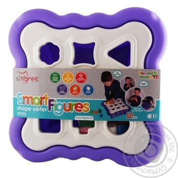 Іграшка Tigres Сортер Розумні фігурки 10елементів - купити, ціни на CітіМаркет - фото 1
