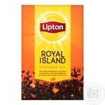 Чай чорний Lipton Royal Island з ароматом тропічних фруктів 80г