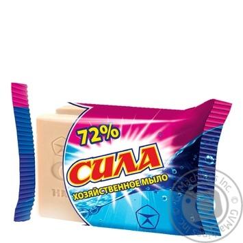 Мыло хозяйственное Сила 72% 100г - купить, цены на Фуршет - фото 1