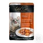 Корм EDEL CAT кролик-печінка в соусі 0,1кг