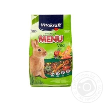 Корм Vitakraft Menu для кролів 500г
