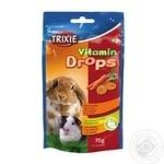 Вітаміни для гризунів Дропс каротин 75г