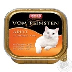 Food Animonda poultry canned for cats 100g