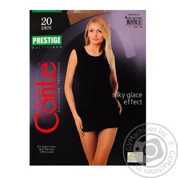 Колготы Conte Prestige 20 Den р.5 natur шт
