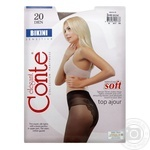 Tights Conte bronze polyamide for women 20den 73g Belarus