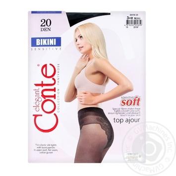 Колготы Conte Bikini 20 Den р.3 nero шт