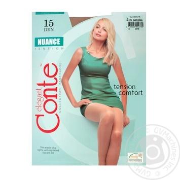 Колготы Conte Nuance 15 Den р.2 natural шт