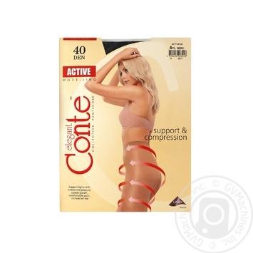 Колготы Conte Active 40 Den р.4 nero шт