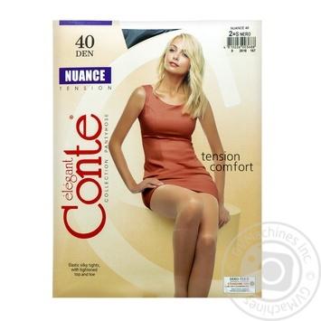 Колготы Conte Nuance 40 Den р.2 nero шт - купить, цены на Novus - фото 1