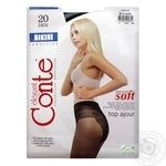 Tights Conte nero polyamide for women 20den 2size