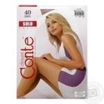 Колготи женские Solo Conte 40 размер 2 natural