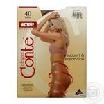 Колготы женские Conte Active Bronz 40ден р.3 Bronz - купить, цены на СитиМаркет - фото 3