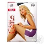 Колготи женские Solo Conte 40 размер 2 nero