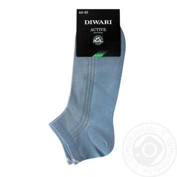 Шкарпетки чол Diwari ACTIVE короткі р.29 018 св.джинс пара