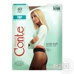 Tights Conte natural polyamide for women 40den 2size