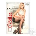Колготки жіночі Conte Elegant Fantasy Dots 20 den розмір 4, nero