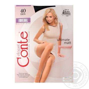 Колготы женские Conte Elegant ideal 40ден 3р - купить, цены на Novus - фото 1