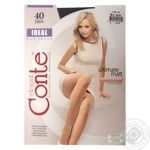 Tights Conte Ideal nero for women 40den 4size