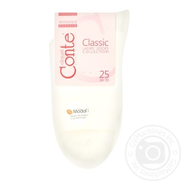 Sock Conte Classic milky for women 25size