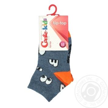 Носки хлопчатобумажные Conte-Kids tip-top детские 12р - купить, цены на Novus - фото 1