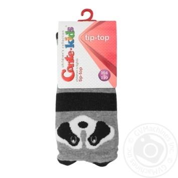 Колготки дитячі Conte Kids Tip-Top 17С-60СП розмір 104-110 16,444 молочний-сірий - купить, цены на Novus - фото 1