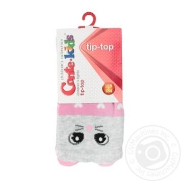 Колготки дитячі Conte Kids Tip-Top 17С-60СП розмір 128-134 20,448 світло-рожевий - купить, цены на Novus - фото 1