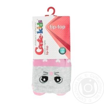 Колготки Conte-kids Tip-Top дитячі світло-рожеві 116-122р