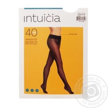 Колготы женские Интуиция Fashion Top 40 den 3 черный - купить, цены на Novus - фото 1