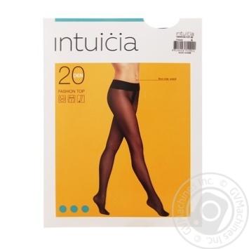Колготи жіночі Fashion Top Інтуіція 20 den 4 чорний - купить, цены на Novus - фото 1