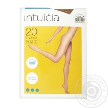 Колготки Intuicia Classic жіночі бежеві 20ден 4р