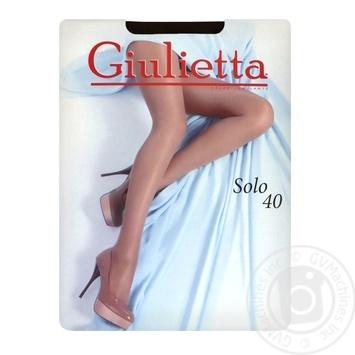 Колготи Giulietta solo 40 nero 2