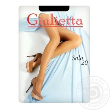 Колготи жіночі Giulietta Solo 20D Nero 3 - купити, ціни на Ашан - фото 1
