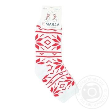 Шкарпетки жіночі Marca Maxpa 42702 розмір 23-25 червоний